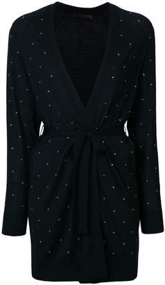 Max Mara embellished longline cardigan