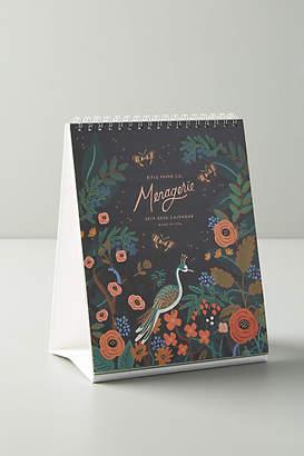 Rifle Paper Co. Menagerie 2019 Desk Calendar