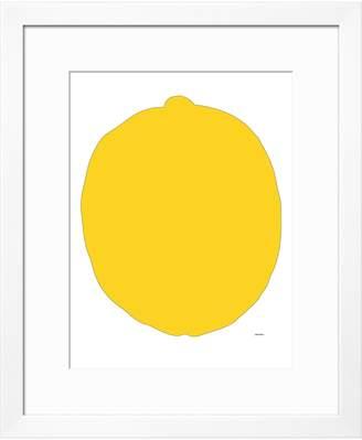 Avalisa The Art Studio Lemon by Framed)