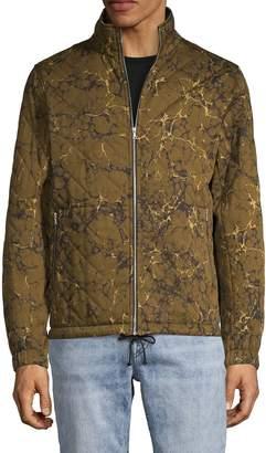 Dries Van Noten Printed Cotton Blend Jacket