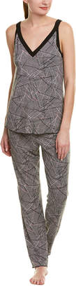 Midnight by Carole Hochman 2Pc Pajama Pant Set