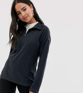 Columbia Glacial half zip fleece in black