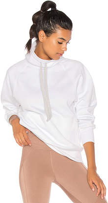 Free People Fletcher Run Hoodie in White. - size L (also in M,S,XS)