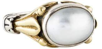 Lagos Two-Tone Caviar Pearl Ring