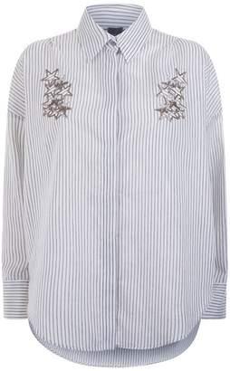 Lorena Antoniazzi Oversized Striped Shirt