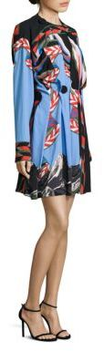 Emilio Pucci Emilio Pucci Printed Pleated Dress