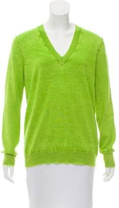 Maison Margiela Cashmere V-Neck Sweater