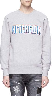 Denham Jeans 'Afterglow' embroidered sweatshirt