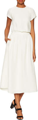 Carven Cady Silk A-Line Dress
