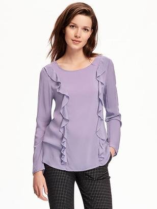 Ruffle-Detail Top for Women $32.94 thestylecure.com