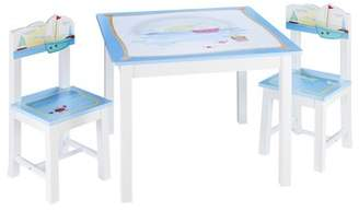 Guidecraft Sailing Kids Table and Chair Set