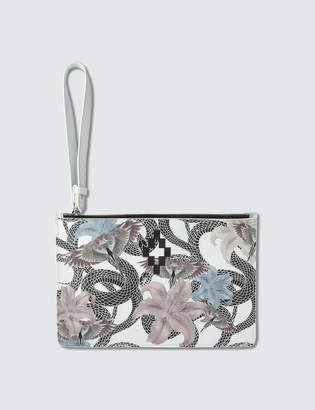 Marcelo Burlon County of Milan Flower Snake Clutch