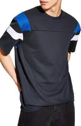 Topman Oversize Panel T-Shirt