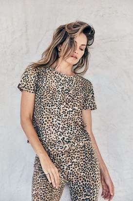 Rag Doll Ragdoll CROPPED TEE Brown Leopard