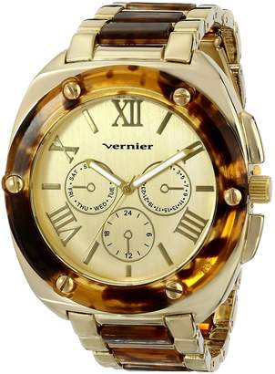 Vernier Women's VNR11163YG Tone Watch