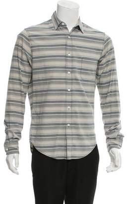 Simon Miller Striped Button-Up Shirt