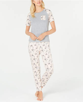 Flora Nikrooz Flora by Knit Top & Pants Pajama Set