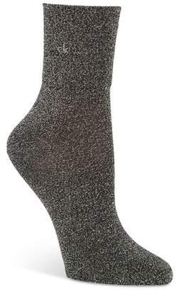 Calvin Klein Glitter Ankle Socks