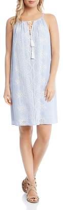 Karen Kane Eyelet Shift Dress