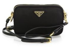 Prada Nylon Camera Bag $545 thestylecure.com