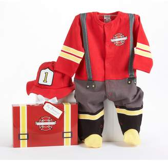 "Baby Aspen Big Dreamzzz ""Baby Firefighter"" Bodysuit Gift Set - Baby"