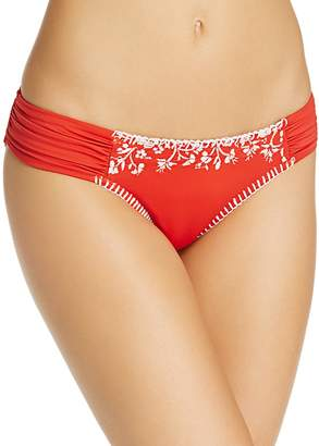 Lucky Brand Stitch In Time Side Sash Bikini Bottom
