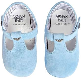 Armani Junior Suede Shoes