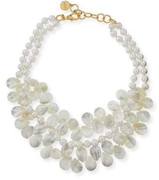 Nest Jewelry Two-Strand Mother-of-Pearl Necklace