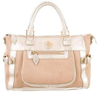 Tory Burch Woven Straw Handle Bag