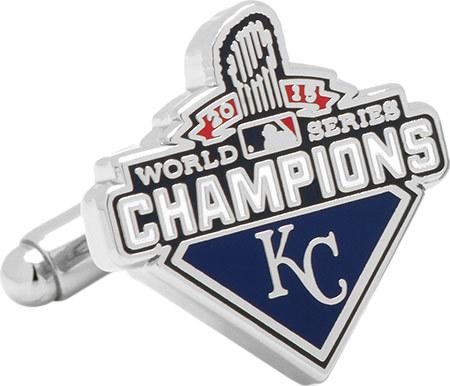 Men's Cufflinks Inc KC Royals 2015 World Series Champions Cufflinks