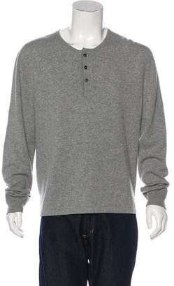 Tom Ford Cashmere Henley Sweater