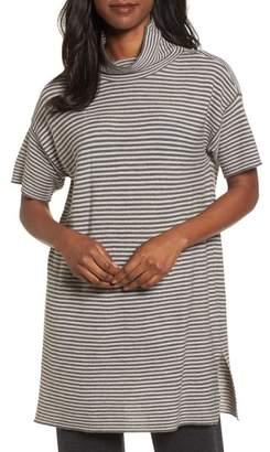 Eileen Fisher Stripe Merino Wool Tunic