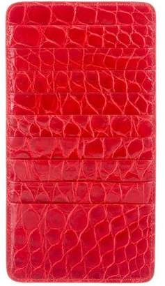 Barneys New York Barney's New York Embossed Card Holder