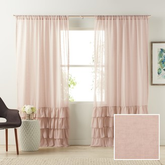 Lauren Conrad Kate Ruffle Sheer Curtain