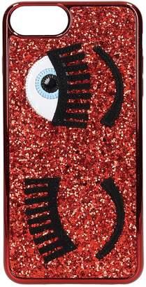 Chiara Ferragni Cover Iphone S6-7-8 Plus Flirting Glitter