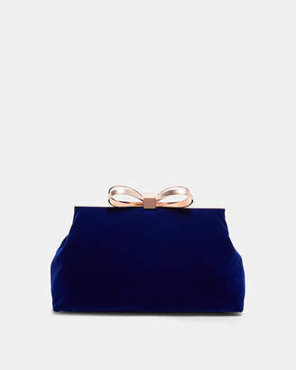 c13ab592aaf8ed ... Asterr Giant Bow Knot Clutch Bag - Taupe. View Full Screen shop best   at Ted Baker · Ted Baker CENA Bow clasp clutch bag online retailer 88d09  35375 ...