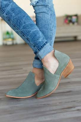 Chinese Laundry Focus Booties - Olive