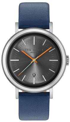 Ted Baker Men's Connor Leather Watch, 42mm