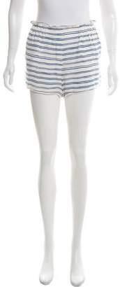 A.L.C. Silk Mid-Rise Shorts