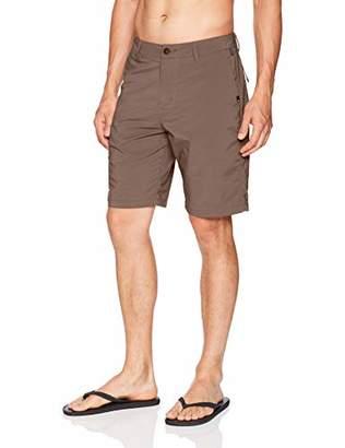 "Quiksilver Men's Transit Twill Amphibian 20"" Boardshort Walk Short"