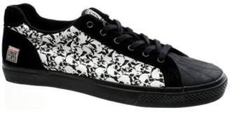Vision Brooklyn Punkskull Black/white Shoe Adult 05