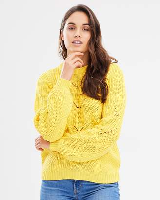 Vero Moda Wishi LS O-Neck Knit