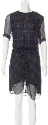 Etoile Isabel Marant Print Silk Dress