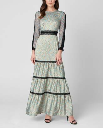 Juicy Couture Falling Posies Maxi Dress