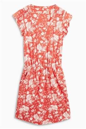 Next Womens Stripe Slub Dress