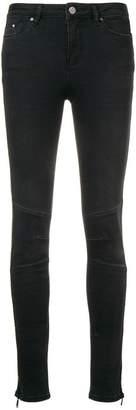 Karl Lagerfeld side zip skinny jeans