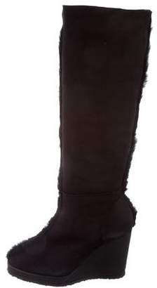 Castaner Wedge Knee-High Boots