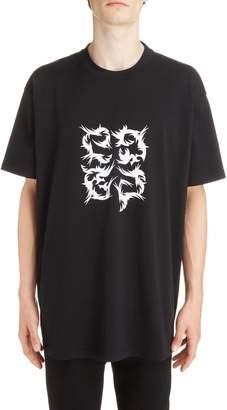Givenchy Abstract 4G Logo T-Shirt