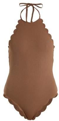 Marysia Swim Mott scallop-edged swimsuit