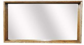 A&B Home Wall Mirror, Recycled Wood